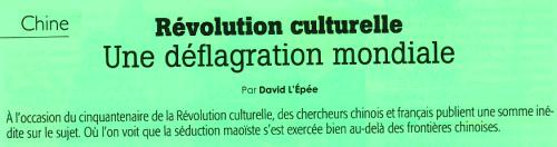 titre Révolution culturelle