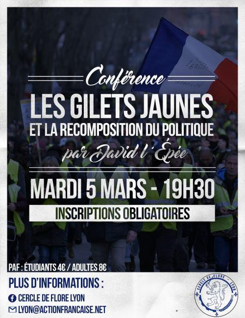 conférence GJ Lyon