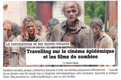 image cinéma zombie