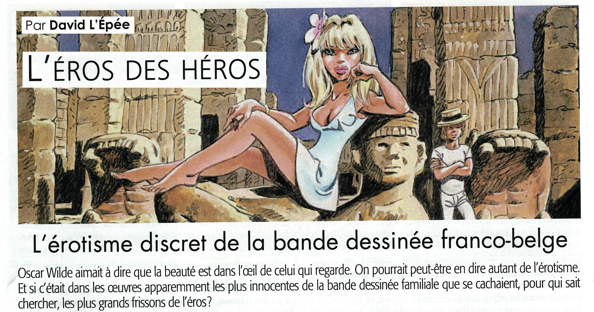 image éros des héros